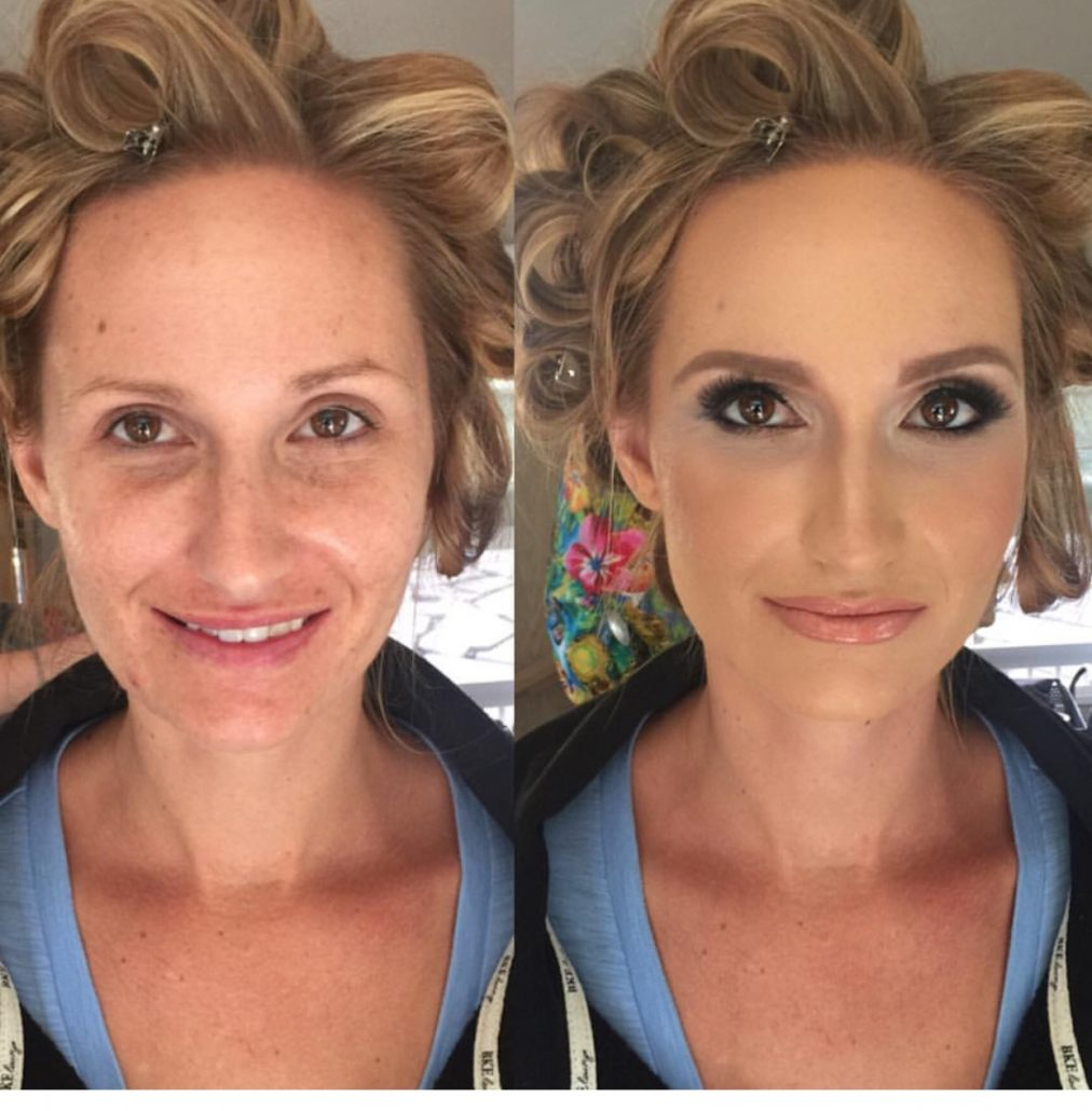 Wedding Day Makeup Before And After : Be Pretty By Chelsea Makeup Artist